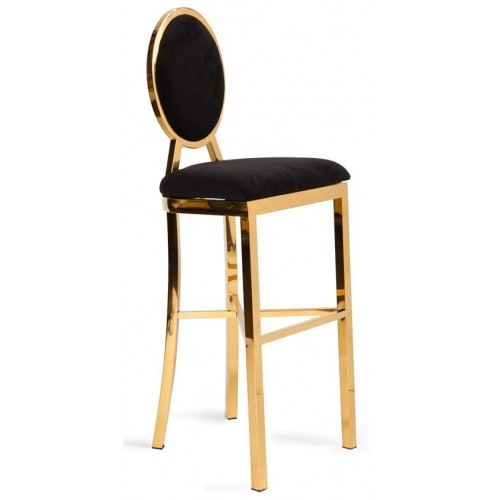BIANCA GOLD HIGH COCKTAIL STOOL