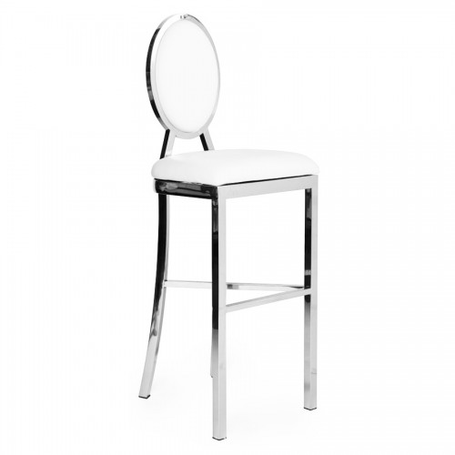 BIANCA SILVER HIGH COCKTAIL STOOL