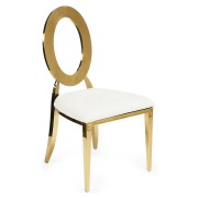 BIANCA GOLD CHAIR LUX